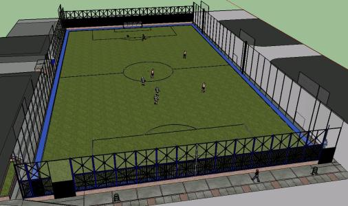 3d SYNTHETIC PITCH