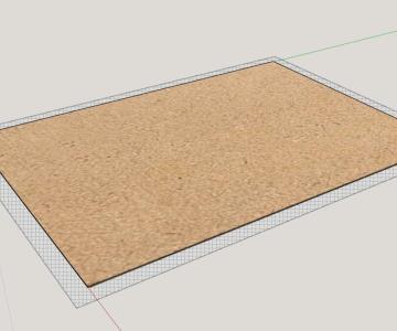 Tablero de fibra de densidad media (MDF)