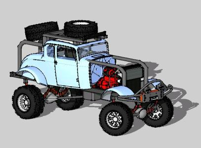 1932 Ford Highboy Off Road Extreme