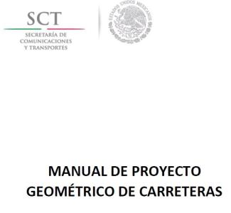 the geometrical Roadway Design Manual 2016