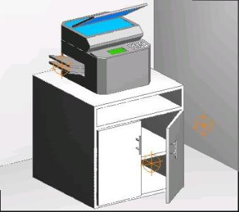 Mueble printer 3d
