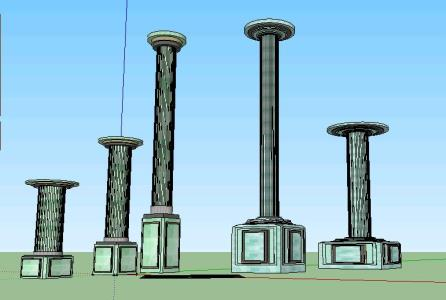 imperial columns