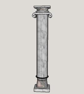 column Neoclasica
