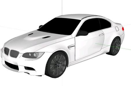 E92 BMW M3 sports car