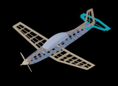 3d model airplane in AutoCAD | CAD download (10 04 MB