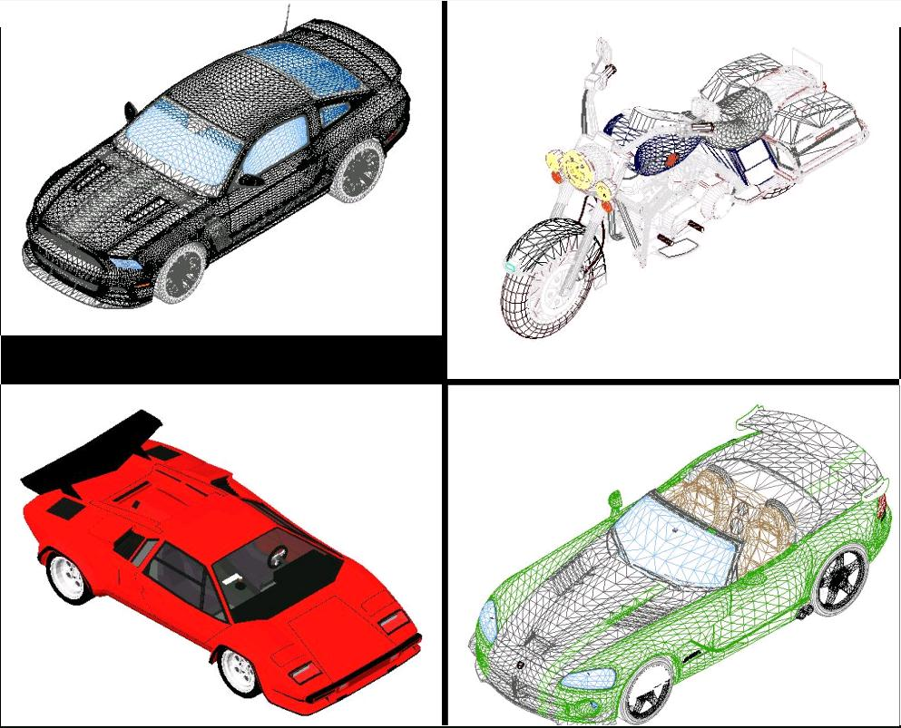 Cars In Revit In Rfa Cad Download 40 27 Mb Bibliocad