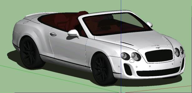 Bentley Continental 3d