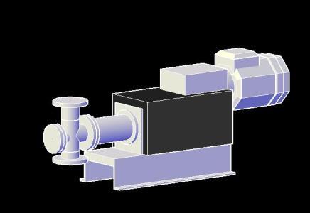Bomba de piston 3D