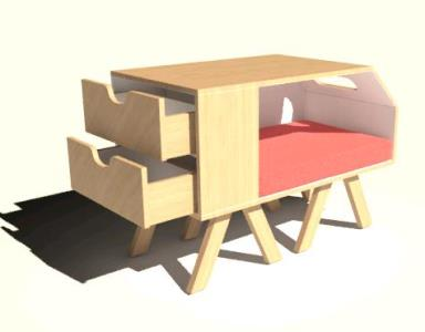 Doghouse 3D