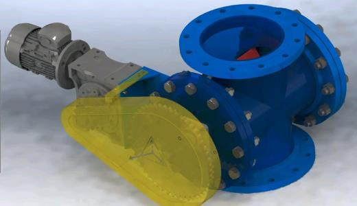 Rotary valve 12