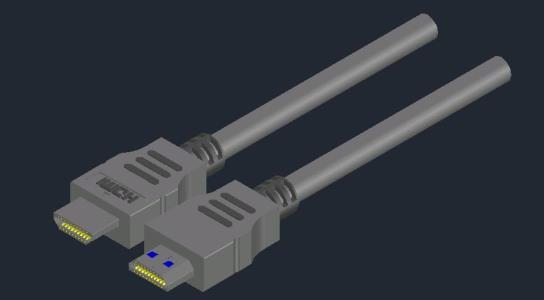 Cable HDM 3d