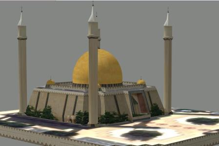 Abuja National Mosque 3D