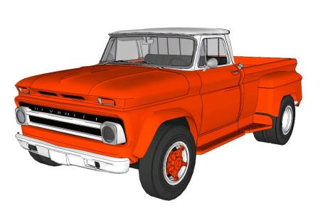 Chevrolet C60 Pick - Up 1966