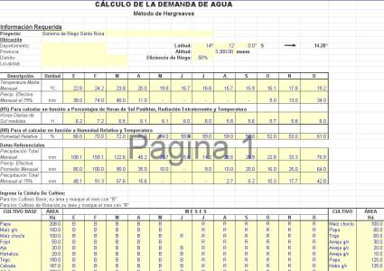 Calculation of demand for water and sewage (235 13 KB