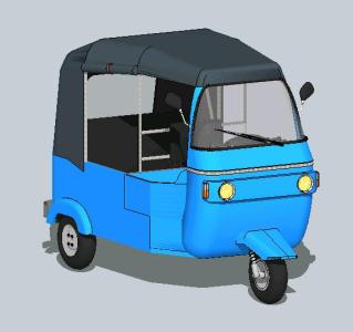 3d mototaxi