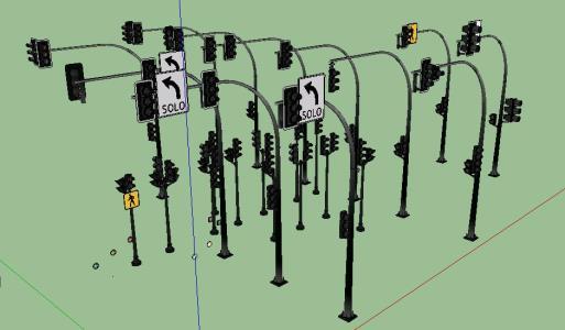 Semaforos 3D