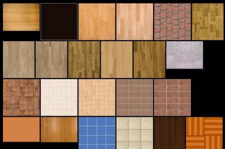 Textura de pisos interiores
