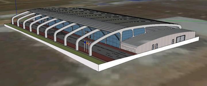 Aeropuerto 3d