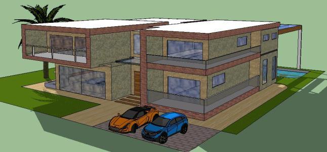 detached house 3D