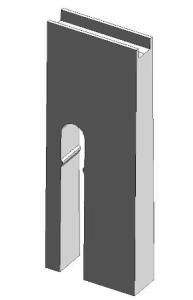 Pieza para modelar acueducto