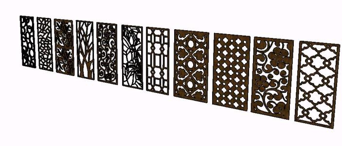 Celosia panels