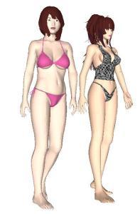 Anime Girl Bikini