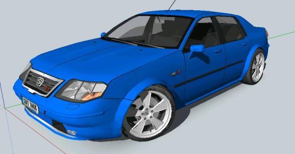 SEDAN 2005 BLUE