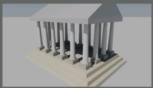PANTHEON; 3D TEMPLE