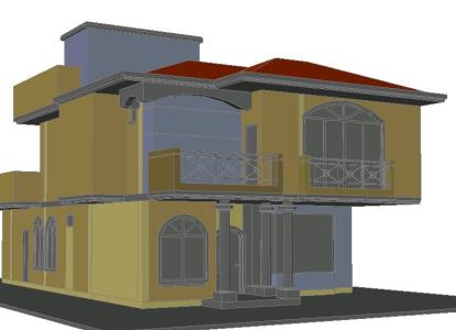 HOUSE IN 3D