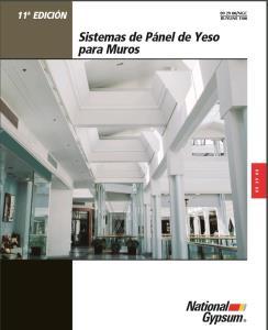 SISTEMA DE PANEL DE YESO PARA MUROS