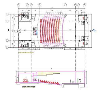 Revit auditorium in RVT   Download CAD free (9.68 MB)   Bibliocad