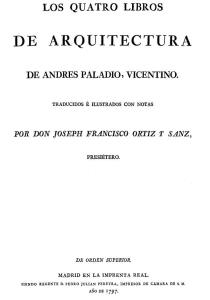 The four architectural books of ANDRES PALLADIO