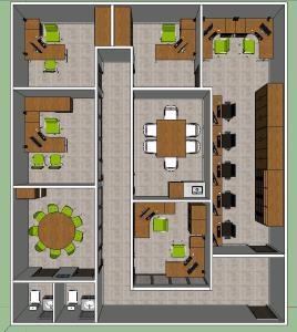 Mobiliario oficina bibliocad for Mobiliario oficina dwg