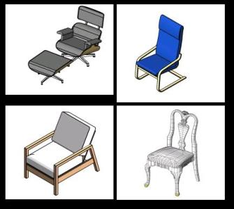 Chairs - chairs (revit) in RVT | CAD download (24 43 MB