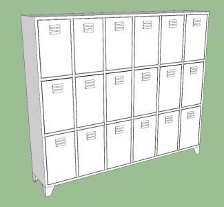Lockers - wardrobe