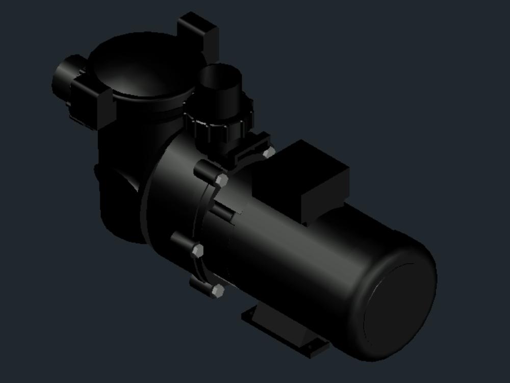 Hydraulic pump in AutoCAD | CAD download (310 42 KB) | Bibliocad
