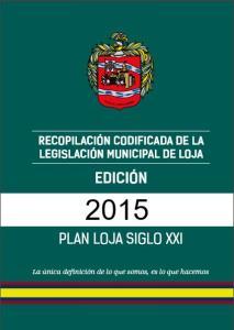 Codificado municipio2015 - Ecuador
