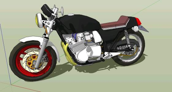 Modified Suzuki GSX750E 1980