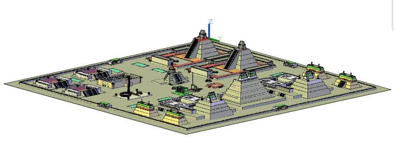 Teotihuacan 3d