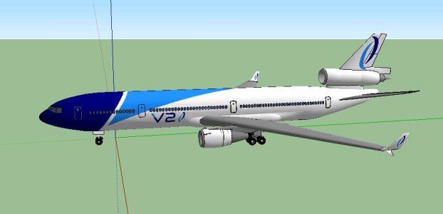 V2 Airlines (2013) McDonnell Douglas MD - 11
