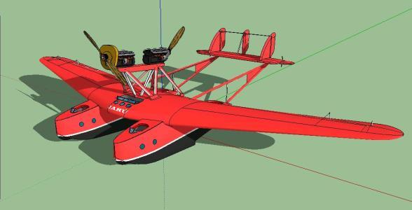 Savoia - Marchetti S.55 C