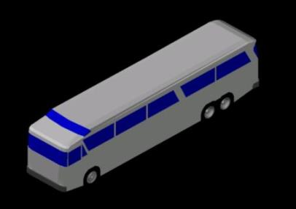 URBAN BUS IN 3D