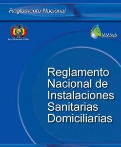 REGLAMENTO INSTALACIONES SANITARIAS BOLIVIANA