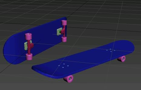 Skate 3d max