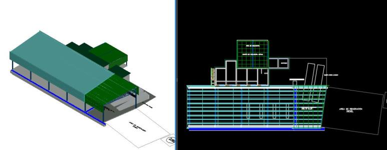 Mechanical workshop 3d