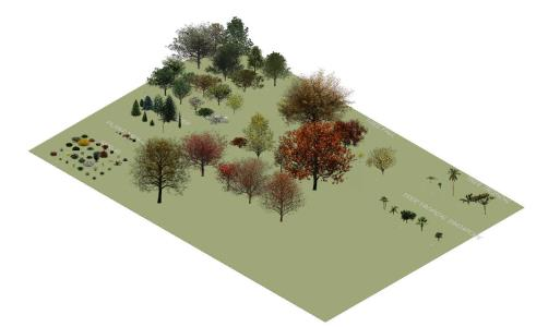 vegetation revit