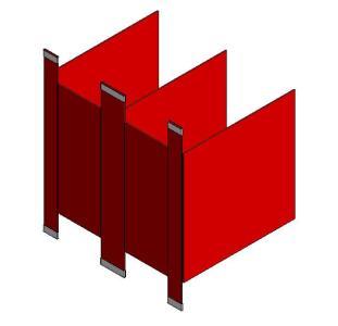 Cabina de ba o 2 modulos en rvt descargar cad kb - Modulos de bano ...