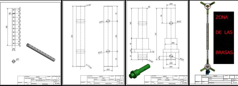 Autocad 2d Learning exercises