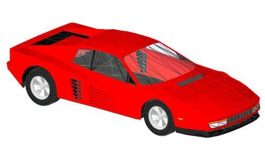 Ferrari testarossa revit