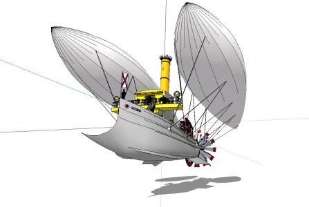 Airship Globe